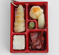 boîte à lunch trousseau forme (couleurs aléatoires)