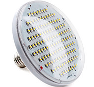 6W E26/E27 LED Spotlight PAR38 136 SMD 3528 400 lm Warm White Decorative AC 220-240 V