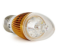 E26/E27 4 W 4 360 LM Warm White C Candle Bulbs V