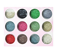 Colorful Metal Ball Style Nail Act Nail Decorations