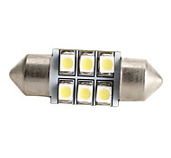 high-performance 31 6 * 1210 SMD witte led auto signaallamp