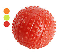 Great Bounce Ultimate Ball Chew Toy with High-visibility for Dogs Cats, 80mm