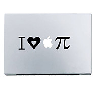"I Love Apple Pie Mac Decal Skin Sticker Cover for 11"" 13"" 15"" MacBook Air Pro"