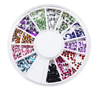 Colorful Jewel Style Nail Act Nail Decorations