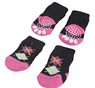 Socks & Boots for Dogs Black Spring/Fall S / M / L Cotton