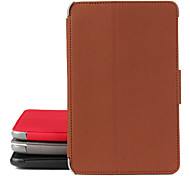 Protective leather case for Samsung 6800