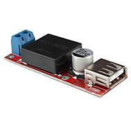 DC 7-24V a 5V DC tensión de corriente USB del módulo convertidor de bricolaje