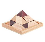 Educational Wooden Pyramid Puzzle Toy