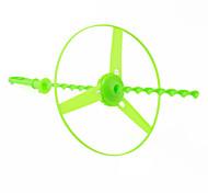 volante in plastica libellula elica giocattolo con led (4-pack, colori casuali)