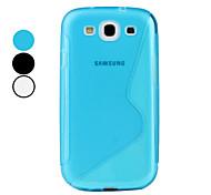 weiche Haut S line TPU Gehäuse für Samsung i9300 Galaxy S3 (farbig sortiert)