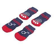 Dog Shoes & Boots / Socks Blue Spring/Fall CottonDog Shoes