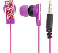 kanen fleur fée écouteurs in-ear magnétique