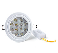 12 W 12 High Power LED 1200 LM Natural White Recessed Retrofit Recessed Lights/Ceiling Lights AC 85-265 V