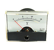 DC 0-15V Analog Voltmeter Panel (Voltage Meter)