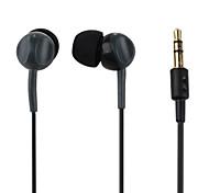 Kanen Stereo Mega Bass Digital In-Ear Earphones (Gray)