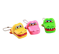 Mini Crocodile Dentist Mechanical Toy Keychains (Random Model)