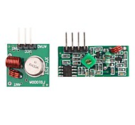 433M Superregeneration Wireless Transmitter Module (Burglar Alarm) and Receiver Module