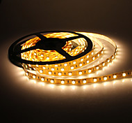 5m 14w 300x5050 SMD bianco caldo LED Light Strip lampada (12V dc)