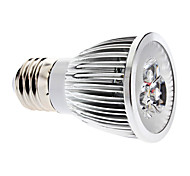 6W E26/E27 Focos LED MR16 3 COB 600 lm Blanco Cálido Regulable AC 100-240 V