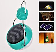 Solar Powered Luz Blanca 4-LED Bombilla Lámpara colgante Linternas