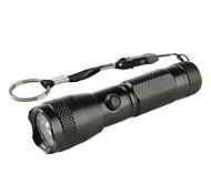 5mW Red Laser + 7-LED White Light Flashlight (1xAA)