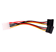 One to Two Interface SATA Power Cable