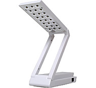 1.5W 24-LED Fold Eyeshield Reading Table Desk Lamp (Green, 220V)