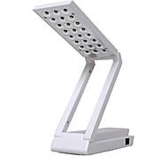 1.5W 24-LED Doble Lectura Eyeshield Tabla lámpara de escritorio (Green, 220V)