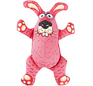 Crazy Rabbit Style Gas-filled Toy for Dogs (Red)