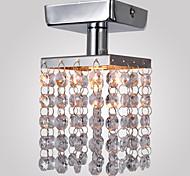 Montagem do Fluxo ,  Contemprâneo Cromado Característica for Cristal Estilo Mini Metal Sala de Estar Quarto Entrada