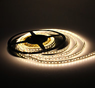 5M 10W 600x3528 SMD Warm White Light LED Strip Lamp (DC 12V)