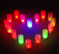 Sound Control Color Changing LED Candle Lamps for Wedding Party Gifts (8-Pack)