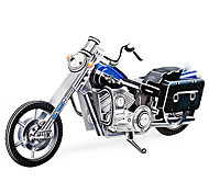 113 Pieces DIY 3D Puzzle Motorcycle (difficulty 4 of 5)