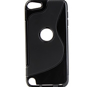 S-Shape Soft TPU Case with Anti-Slip Sides for ipod touch 5 (Assorted Colors)