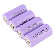Li-ion Battery TR 16340 (3.7V, 1000 mAh)