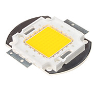 DIY 80W 7000-8000LM 2850-3050K luz blanca cálida LED integrado del módulo (32-34V)