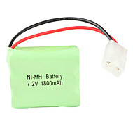 Double Layer Ni-MH AA Battery with 6.2 Port (7.2v, 1800 mAh)