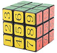 CT Sudoku 3x3x3 I Brain Teaser IQ Puzzle Magic Cube (Black)