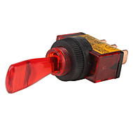 Car Toggle Switch with Red LED Indicator (12V, Vehicle DIY)