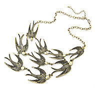 Necklace Vintage Necklaces / Statement Necklaces Jewelry Party / Daily Fashion Alloy Bronze 1pc Gift