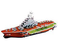 91 Pieces DIY Architecture 3D Puzzle Kuznetsov Aircraft Carrier (difficulty 3 of 5)