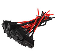Car Rocker Switches (10-Pack / 12V)