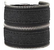 Z&X®  Denim Bracelet with Zipper