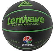 Black PVC+Butyl Inner 7 Size Basketball 0.635KG