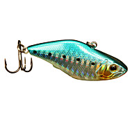 Hard Bait / Vibration/VIB 1 pcs g Ounce mm inch Green / Pink / Yellow / Red / Blue Hard PlasticSea Fishing / Freshwater Fishing / Bass