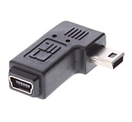 Mini USB Macho para Mini USB fêmea adaptador