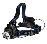 3-Mode Cree XM-L T6 LED Headlamp (10w, 700LM, 4xAA)