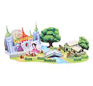 DIY Paper Fairy Tale 3D Puzzle Snow White (42pcs, difficulty 3 of 5)