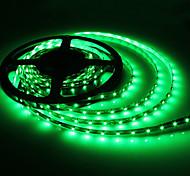5M 5W 300x3528 SMD Green Light Flexible LED Strip Lamp (DC 12V)