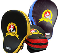 Thicken PU Boxing Target Muay Thai MMA Boxing Gloves Sandbag Punch Pads Hand Target Focus Training Circular Mitts for Kick Fighting